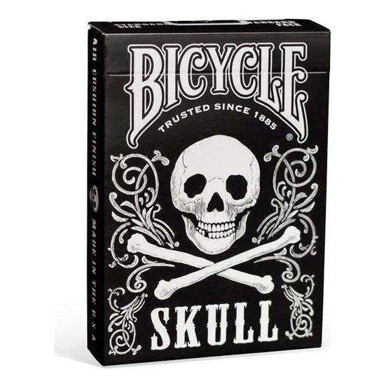 Bicycle Skull Oyun Kartı Destesi