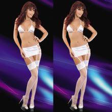 Hizmetçi Modeli Erotik Saten Jartiyer Takımı ART-2045