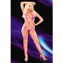 Seksi Kurdelalı Lame Body Çamaşır ART-8051