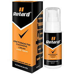 Retard Intimate Cleansing Cream For Man C-1515