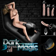 Şişme Yataklı Seks Makinesi - Dark Magic C-N0062