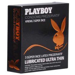 Playboy Ultra Thin (Süper İnce) Prezervatif 3lü L-KN2771