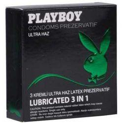 Playboy 3in1 Uzun Geceler Kremli Ultra Haz 3lü LPS-KN2773