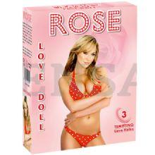 Rose Love Doll 3 İşlevli Şişme Kadın C-2024-R