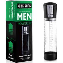 Men Powerup - 20 cm Boy 7 cm Çap Fanuslu Şarjlı Otomatik Penis Pompası C-461
