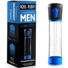 Men Powerup - 20 cm Boy 7 cm Çap Fanuslu Pilli Otomatik Penis Pompası C-462