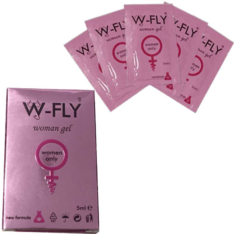 W-FLY Woman Gel - Kutuda 5 Adet 5 ml Pratik Paket